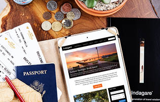 indagare travel inc homepage product selection black book magazine