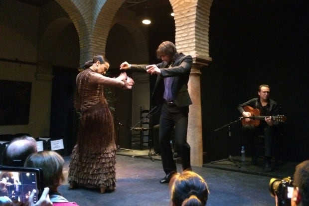 Flamenco dancers in Andalusia, Southern Spain