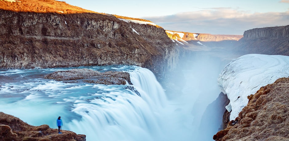 Travelers to Iceland can trek for stunning waterfall views, glacier exploration and more.