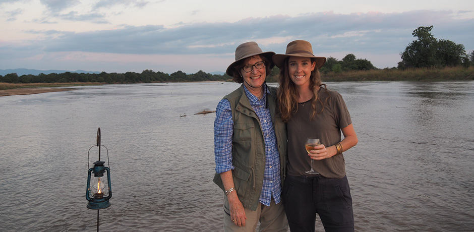 Insider Journey host Rose Allen and her mother on the 2018 Journey to Malawi and Zambia