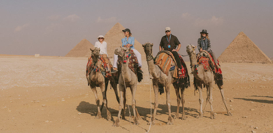 Indagare members on the Insider Journey to Egypt in 2018.