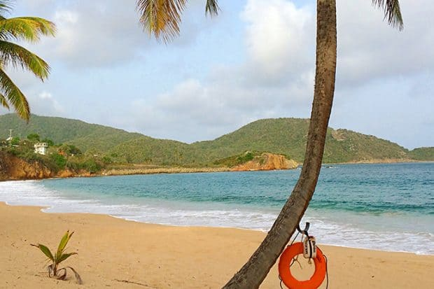 Just Back From… Curtain Bluff