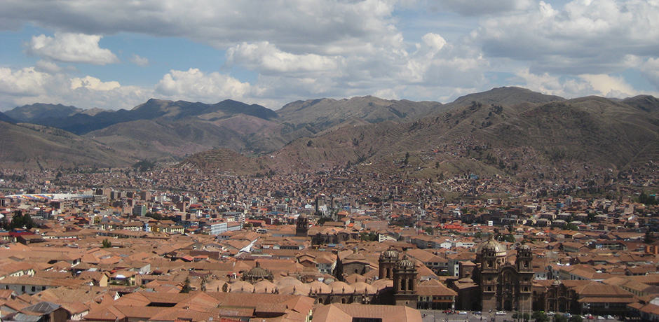 Located at over 11,000 feet, the city of Cusco was the seat of the Inca empire before falling to the Spanish in 1533.