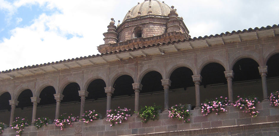 In Cusco, the Convent of Santo Domingo now stands atop the Incas' holiest site, the Coricancha temple, which was devoted to the sun.