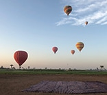 egypt hot air balloon