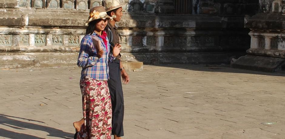 A couple in Bagan.