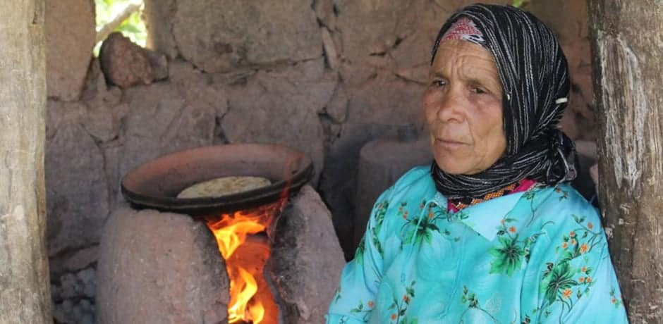A local woman in a Berber village.