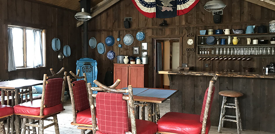 The Blue Canteen is one of the Ranch's most popular lunch restaurants in the summer.
