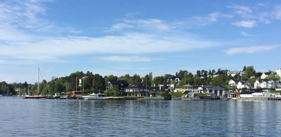 The ferry from Oslo's waterfront to the Bygdøy Peninsula takes only 10 minutes, yet the peaceful rural area feels a world away from the city.