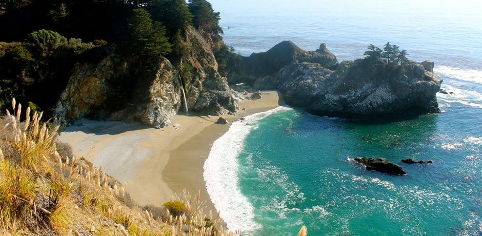 McWay Falls, a must-see stop along Highway 1