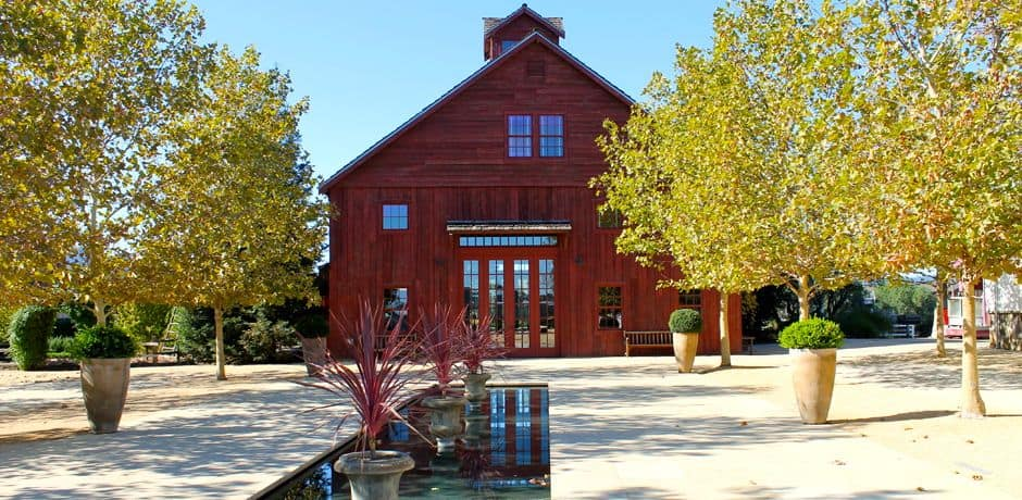 Quaint vineyard Nickel and Nickel offers small tastings and tours