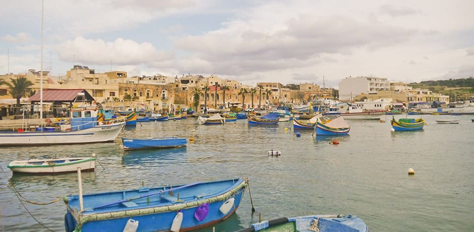 Marsaxlokk fishing village