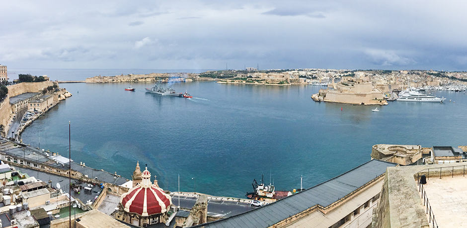 The Grand Harbour on the Port of Valletta