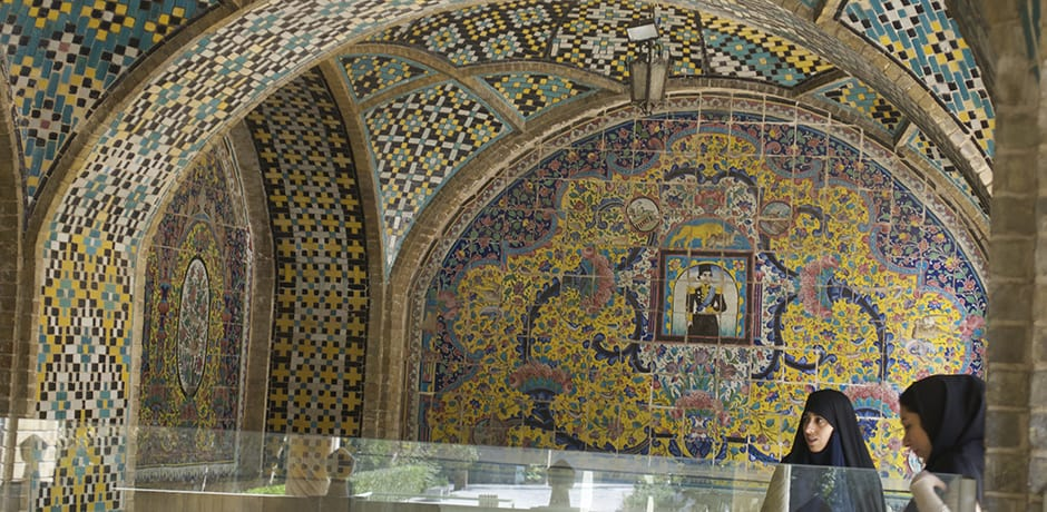The Golestan Palace in Tehran