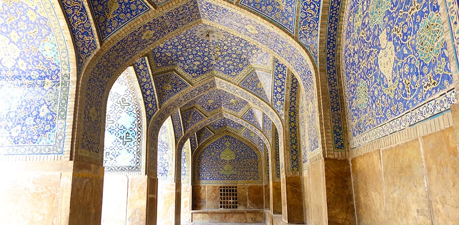 The Imam Mosque in Isfahan