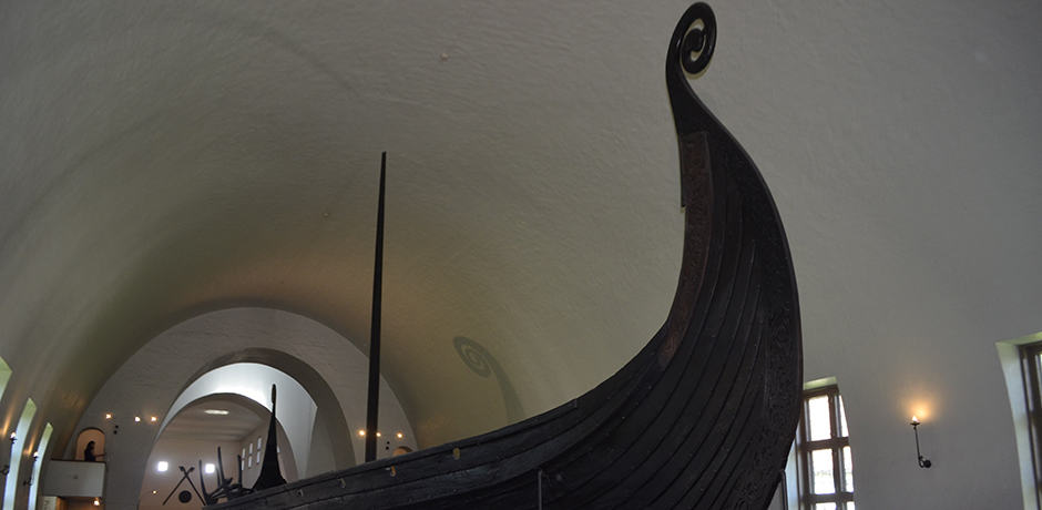 The Bygdøy Peninsula's Viking Ship Museum, home to ships from the 9th and 10th centuries.