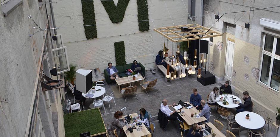The café/hangout space at Mesh, a members-only society that calls itself The Nordic Creaters' Community, is the perfect spot to grab a bite or coffee—and observe the city's hipster set.