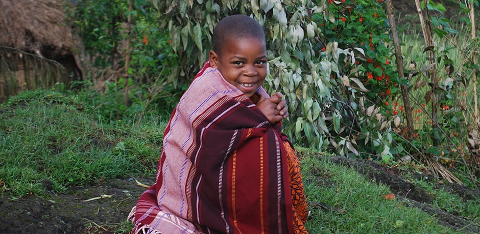 Many of the children in the villages near the parks in Uganda and Rwanda do not have mirrors in their homes so will ask to have their photo taken and then be shown the image.
