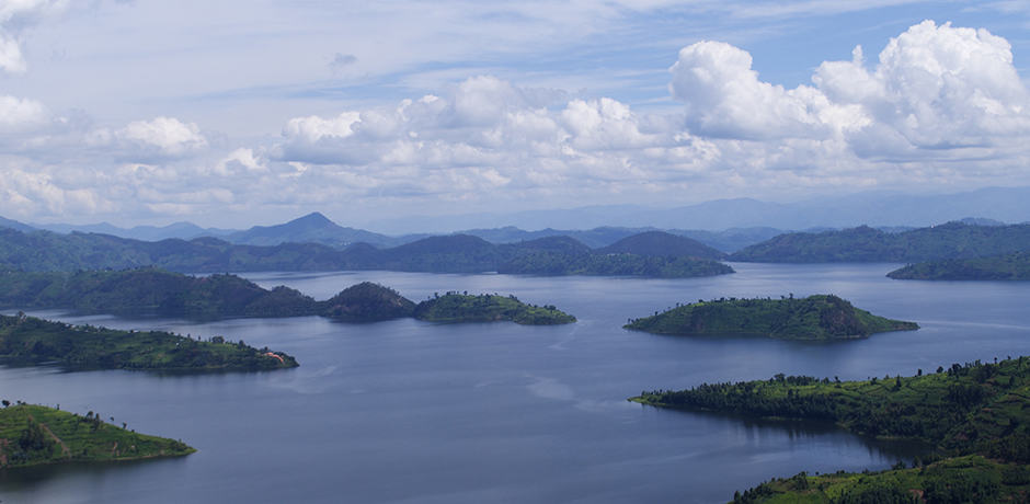 Rwanda is known as the land of a thousand hills but its lakes are breathtaking as well.