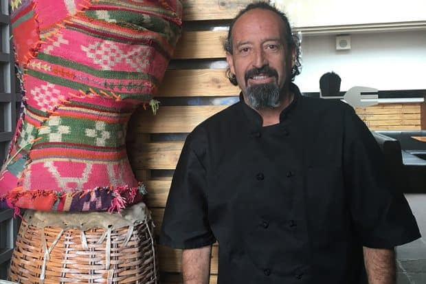 Chef Marco Boniface of Mercat in Bolivia