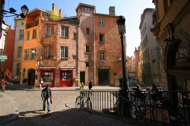 Old Lyon, courtesy Marie Perrin
