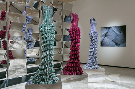 The Alaïa Exhibition at the Design Museum, London. Courtesy Mark Blower.