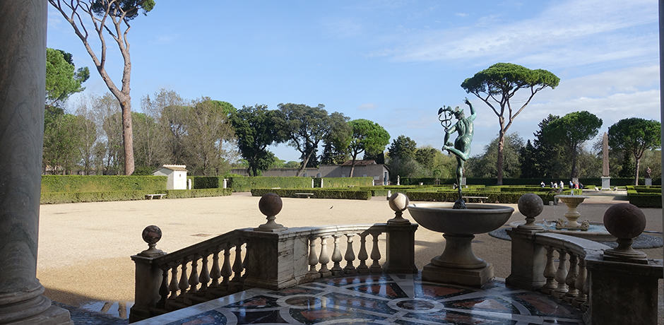 The gardens of the Villa Medici