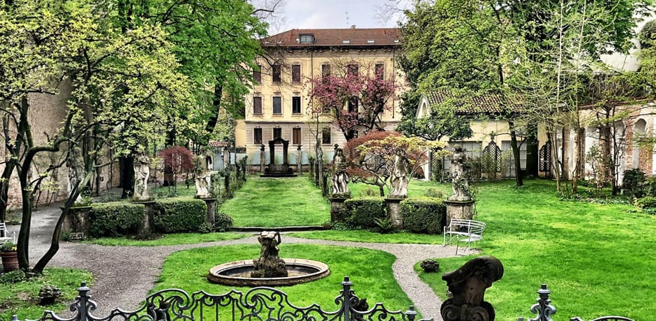 Inside a fashionable villa on Indagare's recent Insider Journey to Milan