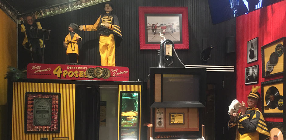 Jack White's shop, located within his record label, is full of musical memorabilia
