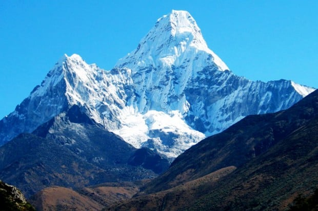 Mount Everest, Courtesy Nepal Tourism Board