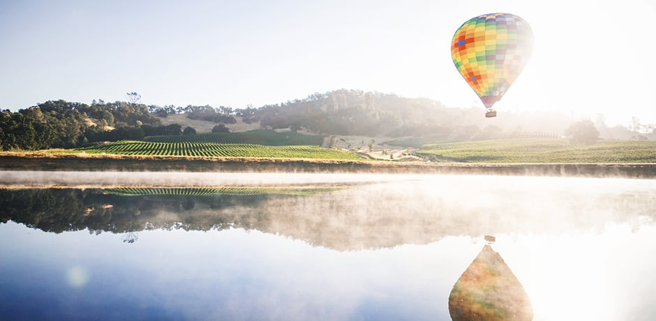 Sunrise over Napa Valley, where Indagare and WSJ. Magazine will head this fall with acclaimed food and wine writer Howie Kahn, a best-selling author, award-winning journalist and podcast host heard