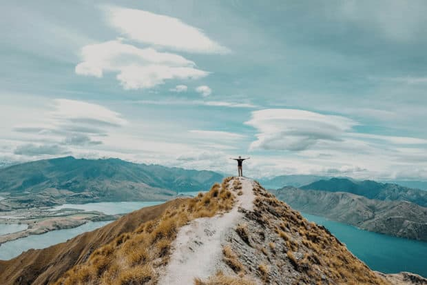 Unparalleled views make New Zealand one of the best places to hike in the world.