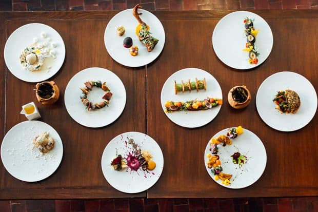 Specialty dishes at Ona Restaurant
