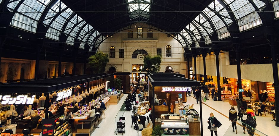 Dining in Oslo's Central Station