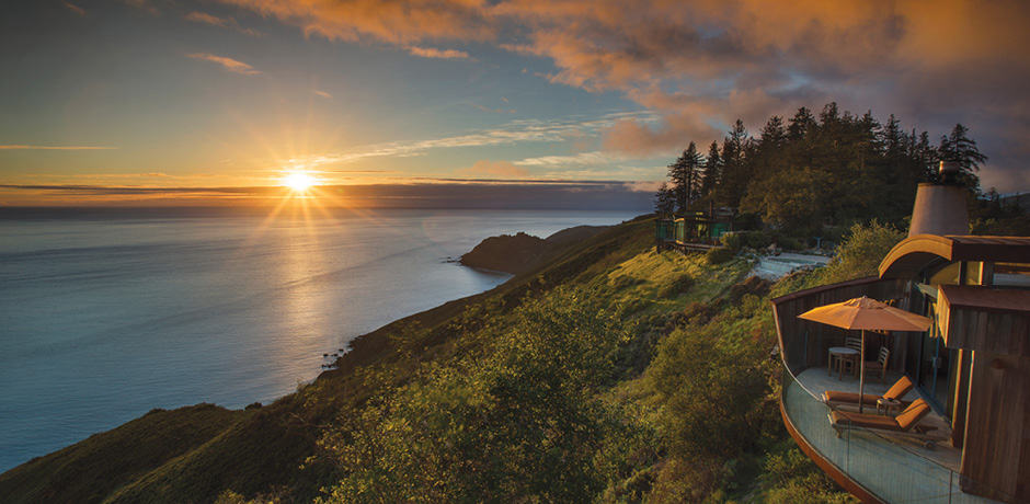 The view from Post Ranch Inn, Big Sur, California. Photo by Kodiak Greenwood.