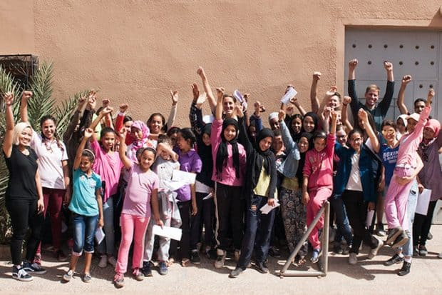 Giving Back in Morocco: Project Soar
