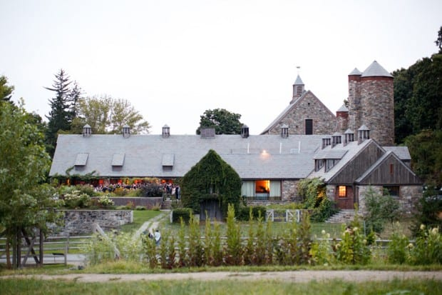 The exterior of Blue Hill at Stone Barns in the Hudson Valley. Courtesy of Ira Lippke