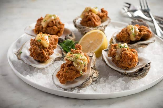 Fried oysters at Mr. B's Bistro, Courtesy Mr. B's Bistro, New Orleans