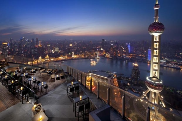 Flair Rooftop Restaurant & Bar in Shanghai