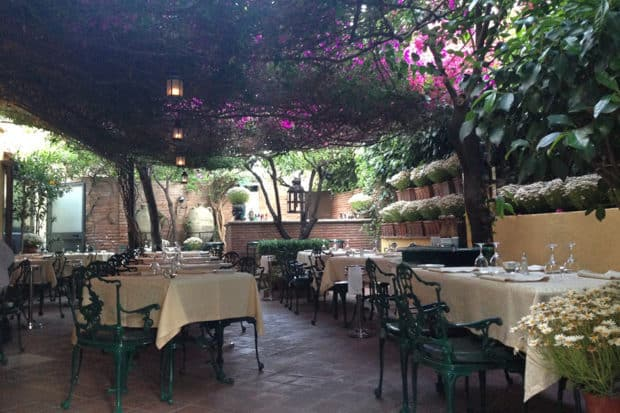 With its flower-covered terrace, Maffei's is one of the most romantic restaurants in Sicily.