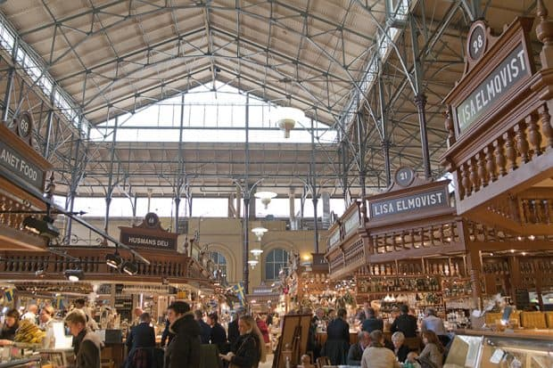 Östermalms Saluhall in Stockholm