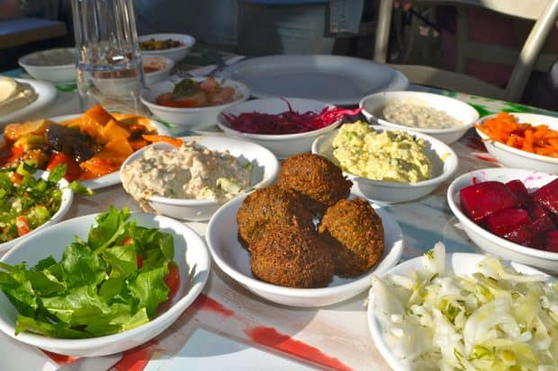 Mezze at the Old Man and the Sea