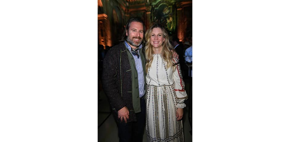 WSJ. Magazine editor-in-chief Kristina O'Neill (right) and Design Miami/'s Rodman Primack (who also hosted our Insider Journeys to Mexico City and Helsinki in 2018) at WSJ. Magazine's Salone del Mobile welcome party, which was held in the deconsecrated church San Paolo Converso. © The Wall Street Journal, André Lucat/SGP.