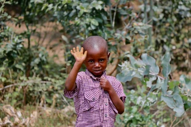 A child in Rwanda, courtesy Indagare member Simone Mailman