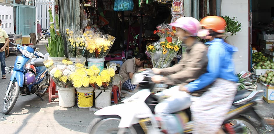 Xom Chieu Market gives visitors a peak into local life in Saigon.