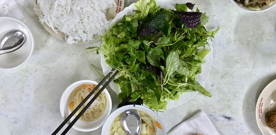 Vietnam is known for its excellent local food. Be sure to try Bun Cha at Dac Kim in Hanoi.