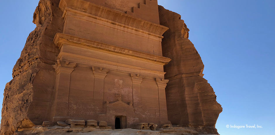 Al-Fareed (the Unique) is just one of 140 monumental tombs and chambers in the Mada'in Saleh region.
