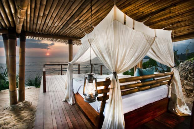 Sleeping under the stars at Nihi Sumba.