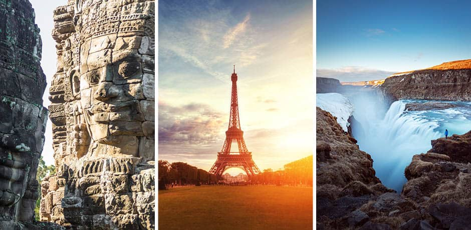 From Cambodia to France, there are endless possibilities for solo exploration around the world.