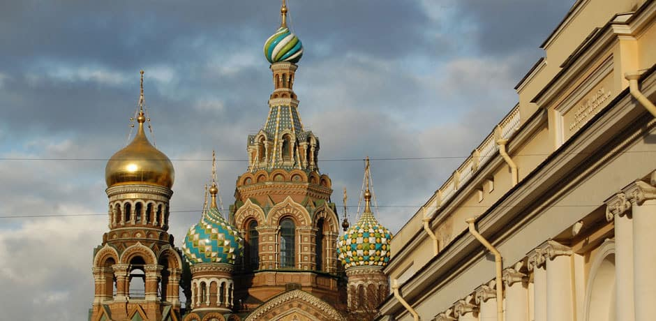 The Church of the Spilled Blood, St Petersburg